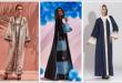 صور عبايات خليجية ملونة , اشيك عبايات خليجية 2019