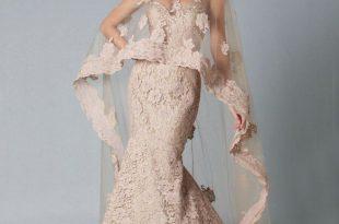 صورة صور فساتين دانتيل , دانتيل رائع في عالم موضة الفساتين