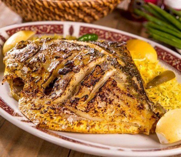 صورة سمك بالفرن بالصور , صينية سمك ولا اطعم في الفرن