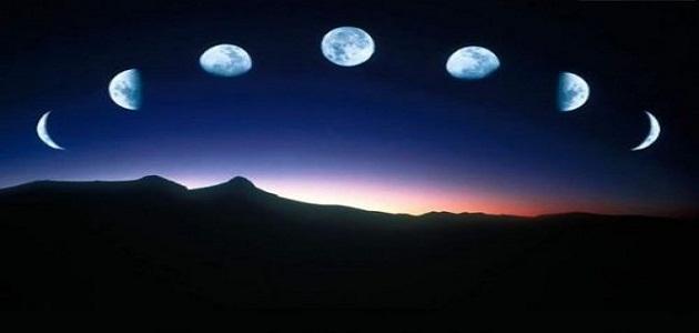 صورة صور عن القمر , جمال القمر ونوره