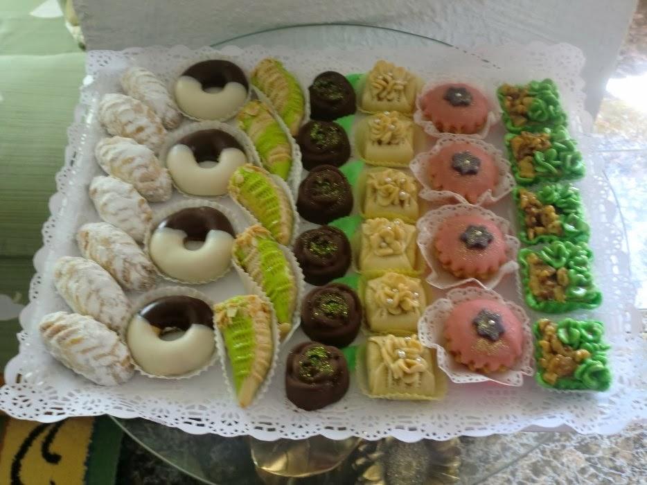 صورة حلويات الافراح بالصور والطريقة , باقة من اجمل الحلويات في الافراح والمناسبات