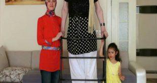 صور اطول امراة في العالم , من عجائب الدنيا