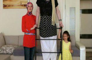 صورة اطول امراة في العالم , من عجائب الدنيا