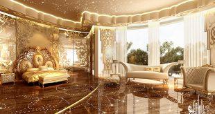 صور ديكورات غرف النوم الرئيسية , انها حقا غرفة رائعة