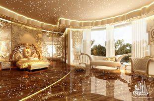 صورة ديكورات غرف النوم الرئيسية , انها حقا غرفة رائعة