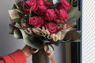 صورة صور بوكيه ورد , مني لك احلى بوكيه من الورود