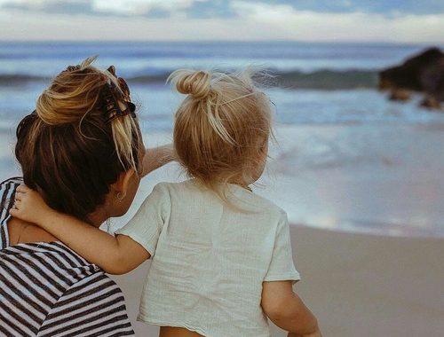 صورة صور عن حنان الام , الام هي سعاده ابنائها