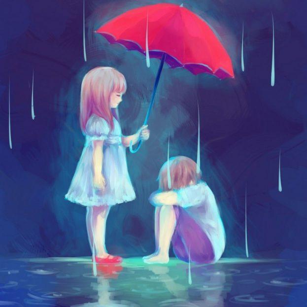 صور صور فتاة حزينة , اجمل صور فتيات حزينة كرتون