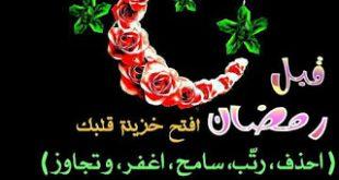 صورة رمزيات تحفة جدا لشهر رمضان , عبارات عن رمضان