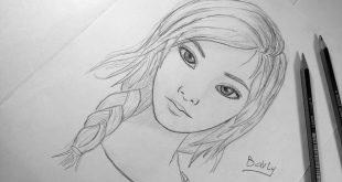 صورة رسومات منتهي الجمال , رسم سهل جدا