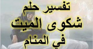 صورة سلمت علي ميت انا اعرفه , السلام على الميت في المنام