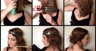 صورة سرحي لنفسك تسريحة بسيطة , موديلات شعر بسيطة